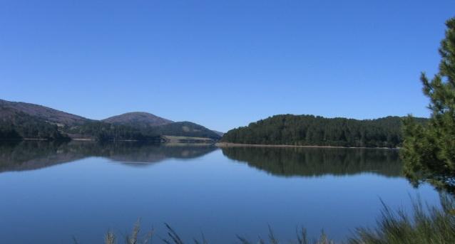 immagine del lago arvo